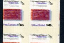 New Zealand Stamp Errors / Stamp Errors and Mistakes on New Zealand Stamps