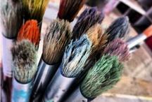 materiales de pintura