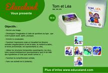 Tom et Léa / Un atelier de langage