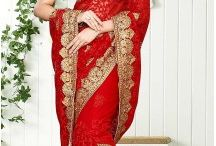 Indian Sarees Saris Bouse Online / Shop best designed indian sarees for occasions like wedding, festival, bridal, party, casual saris and more in various colors, styles and fabrics at low prices. http://www.heenastyle.com/sarees