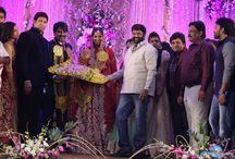 Celebrities Reception Photos / Celebrities in Wedding Functions and Reception Parties