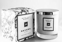 White Lily Bamboo by Havana Home / With a complex floral mix and a hint of bamboo, this sweet White Lily fragrance is perfect for a summer evening