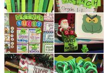 Teaching- Grinch Day!