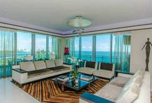 FOR SALE ~ One Bal Harbour 1809 / FLAWLESS DESIGN BY BRITTO CHARETTE IN CORNER 3 BEDROOM AT NEW RITZ CARLTON BAL HARBOUR! Totally redesigned floorplan features Sweeping Ocean Views from every room. Kitchen in White Lacquer with White Calacatta Gold Marble counters, SubZero + Viking Apps + Gas Stovetop & Custom Wine Cabinet. White Thassos Marble & Walnut Wood flooring, Master Bathroom in White Thassos Marble + Ornare Custom Closets, Wallcoverings by Phillip Jeffries | Listed For: $4,995,000