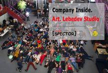 Company Inside. Art. Lebedev Studio