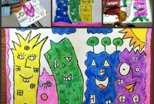 art ideas for grade 1