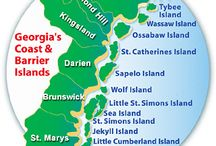 Ga barrier islands