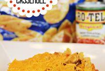casseroles / by Carol Bond