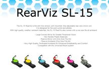 Our Products / check out all our RearViz colours and we are about to add Yellow, Red and Pink, if you are a Corporate business you can get your logo on our disc, contact us at admin@rearviz.com