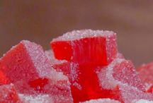 Bala de gelatina caseira