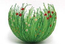 Fabric Bowls / by TiannaKeithStudio.com