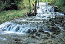 Szilvásvárad, Hungary / Small village in Northern Hungary. Beautiful landscape, waterfalls, naroww-gauge railway, caves.