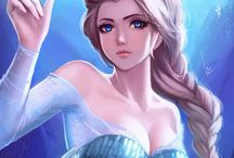 Frozen *Queen* / It is the 53rd animated feature in the Walt Disney Animated Classics series. Inspired by Hans Christian Andersen's fairy tale The Snow Queen. / by Kristjana