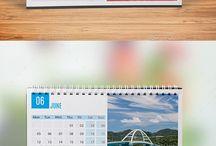 Desk calendars 2017