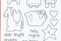 Christmas patterns/ Jouluiset kuvat