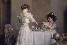Etiquette 1900s