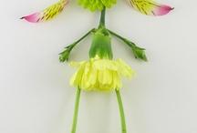 фигурки из цветочков