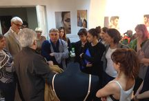 Maurizio Millenotti in Accademia / The well known Costume Designer Maurizio Millenotti meets the Accademia Costume & Moda Faculty and Students ( May 8th, 2015)
