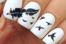 Nail art, makeup and causal / Nail art you can try on you're nails causal clothing you can wear make up you can try