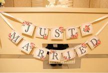 結婚式小物系