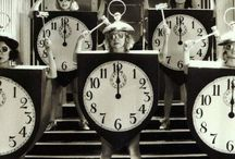 Around the Clock / Clocks, clocks, tick-tock. / by Kate Burke