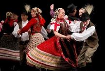 Hungarian folk dance and clothes  / Hungarian folk dance and clothes