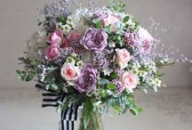 pink purple wedding
