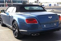Bentley GTC Blue