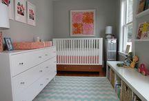 Nursery/ & now little girls bedroom / by Lani