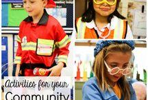 Kindergarten Community Helpers...