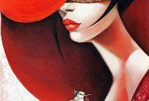Arte con sombrero.