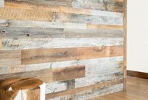 Reclaimed is in and here to stay! / Here at Creative Floors we source truly reclaimed barn wood. It is shiplapped, denailed and kiln dried for your convenience in installing. Barn wood makes a perfect accent wall, doorway, bar covering, anything you can imagine! Let's get creative.