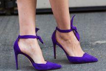 le violet / deuil, mode, luxe, féminité, connaissance.