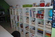 homeschool space / by Counting Change Again