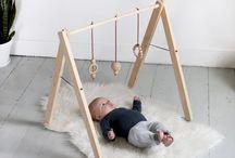 wood baby gym