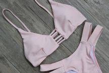 bikinis & swimwear & beachwears