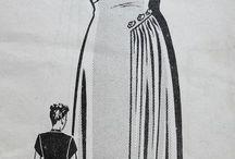 šaty a šití
