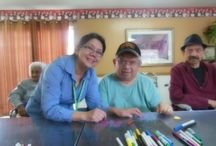Downey Care Center  / Our great staff paid a visit to Downey Care Center for a fun arts and crafts activity with some of the #seniors and #elderly there.  #homecare #24hourcare  / by A-1 Home Care, A-1 Domestic Professional Services