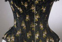 corset 1890th