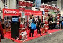 KBIS 2014 - Warmup booth N2955  / Few pictures of our booth!