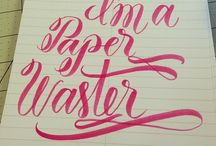 Lettering // Typo
