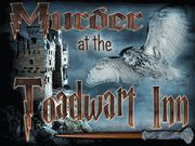 Murder at the Toadwart Inn - Murder Mystery Party for Witches & Wizards / Dust off your robes and wands and get ready for your next Witch & Wizard Murder Mystery Party! A hilarious witch & wizard themed murder mystery party game for 14+ years, 6-10 characters. 10 Character Expansion pack is available.