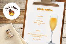 Malibu Cocktails