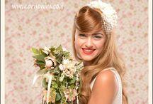 vintage bridal hair accessories אביזרי שיער בסגנון וינטג'