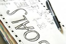 Journal/notebook ideas / by Kathy Meyer