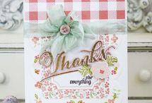 Papertrey Ink / Handmade cards