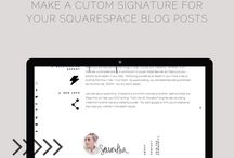 Blogging design