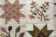 My Stars and Sprigs quilt / I've loved Kim McLean's for years. Must do it!
