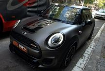 MINI John Cooper Works en Grafito Mate - Car Wrapping by Pronto Rotulo / by Pronto Rotulo