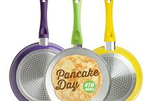 Pancake Day  / Have a #PANtastic #Pancake day with #Ceracraft Non-Stick ceramic saucepans